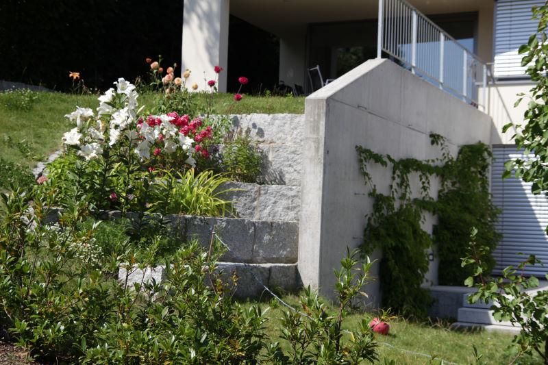 Garten  U0026 Landschaftsbau Terrassierung Am Hang